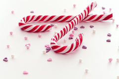 Christmas candy sticks Royalty Free Stock Photography