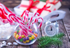 Christmas candy Stock Photo