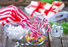 Christmas candy Stock Image