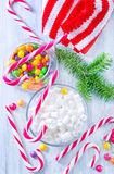 Christmas candy Stock Photo