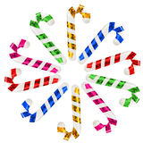 Christmas candy toys Royalty Free Stock Images