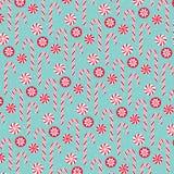 Christmas candycane background pattern Royalty Free Stock Photo