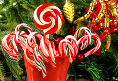 Christmas candys Royalty Free Stock Image