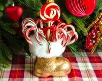 Christmas candys Stock Photos