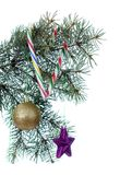 Christmas cane candy Royalty Free Stock Images