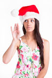 Christmas cap Royalty Free Stock Photos