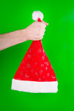 Christmas Cap Royalty Free Stock Photography