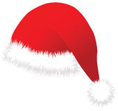Christmas cap vector image Royalty Free Stock Photo