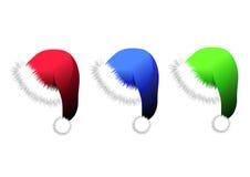 Christmas caps Stock Photography