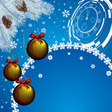 Christmas car Royalty Free Stock Images