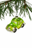 Christmas car Stock Photography