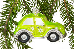 Christmas car Stock Images