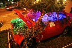 Christmas car Stock Photo