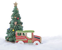 Christmas Car Royalty Free Stock Photo