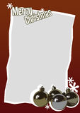 Christmas card 11 Stock Images