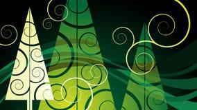Christmas card. Abstract greeting card for christmas Stock Image