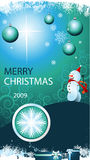 Christmas card. Christmas greeting card for your business Royalty Free Stock Photo