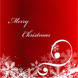 Christmas card. Merry Christmas greeting card-vector illustration Stock Photo