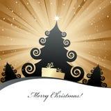Christmas card. Stock Photo
