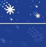 Christmas card. New year card.  illustration Stock Images