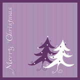 Christmas-card Royalty Free Stock Photography