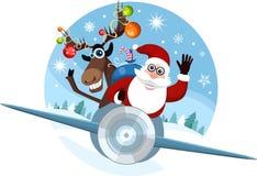 Christmas card. Vector illustration of a christmas card Stock Photography