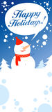 Christmas card. Royalty Free Stock Images