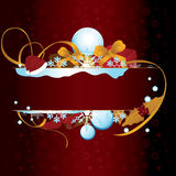 Christmas card. To be used as christmas cards, banners, wallpaper, and others Stock Image