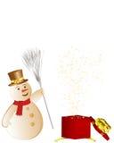 Christmas card stock image