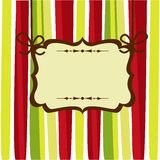 Christmas card. With place for your text, vector illustration Stock Photo