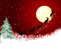Christmas card. Beautiful vector Christmas (New Year) card for design use Stock Images