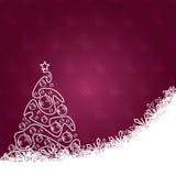 Christmas card. Beautiful elegant illustration Royalty Free Stock Photos