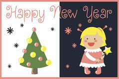 Christmas card. It is a very cute Christmas card Stock Images