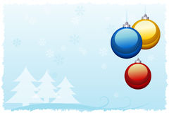 Free Christmas Card Royalty Free Stock Photography - 27865317
