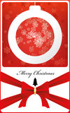 Christmas card. Illustration of festive  eps 8 Stock Photography