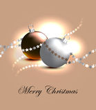 Christmas card. Design. Vector illustration (eps 10 Royalty Free Stock Photos