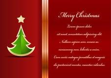 Free Christmas Card Royalty Free Stock Photos - 35425088