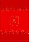 Christmas card. Illustration Royalty Free Stock Image