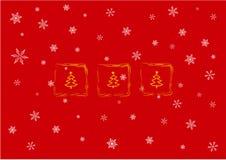 Christmas card. Illustration stock illustration