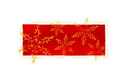 Christmas card. Xmas card illustration royalty free illustration