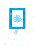 Christmas card. Illustration Stock Photo