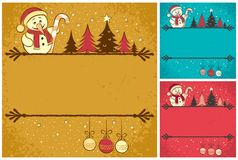 Christmas Card 4 stock illustration