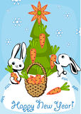 Christmas card 5. Stock Images