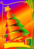 Christmas card. Ready for use Royalty Free Stock Images