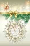 Christmas card 2014 Royalty Free Stock Image