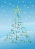 Christmas card or background Stock Images