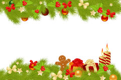 Christmas card background. Royalty Free Stock Images