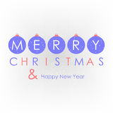 Christmas card, background with christmas decoration Royalty Free Stock Photos