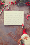 Christmas Card Background Royalty Free Stock Photos