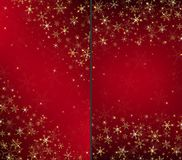 Red luxury Christmas card background stock illustration